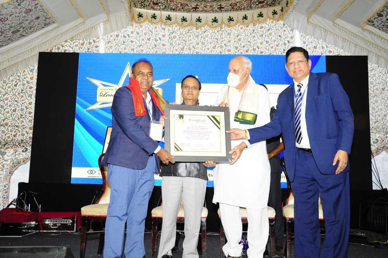 महापारेषणचे अध्यक्ष व व्यवस्थापकीय संचालक दिनेश वाघमारे यांना ग्रीनटेक लिडिंग डायरेक्टर पुरस्कार