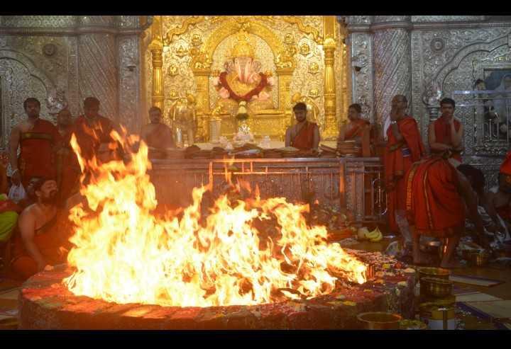 दगडूशेठ गणपती मंदिरात दहा दिवसीय 'अतिरुद्र याग' संपन्न