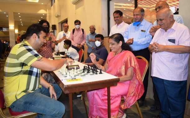 18व्या श्री महेश्वरानंद सरस्वती मेमोरियल महाराष्ट्र खुल्या रॅपिड रेटिंग बुद्धिबळ स्पर्धेत चौथ्या फेरीअखेर पाच खेळाडू आघाडीवर