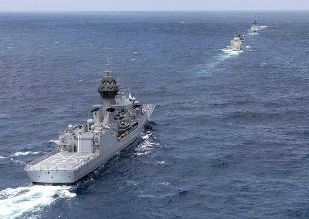 रॉयल ऑस्ट्रेलियन नेव्ही आणि भारतीय नौदलाचा द्विपक्षीय सराव - `ऑसिन्डेक्स`