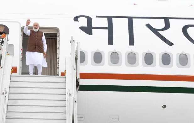 पंतप्रधान मोदींचे विमान अफगाणिस्तानवरून गेले नाही, पाकिस्तानच्या हवाई क्षेत्राचा केला वापर
