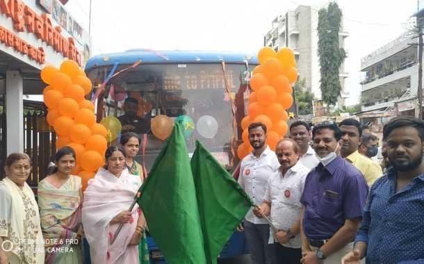 अटल बस योजनेअंतर्गत कात्रज ते येवलेवाडी ५ रुपयात नवीन बसमार्ग सुरू