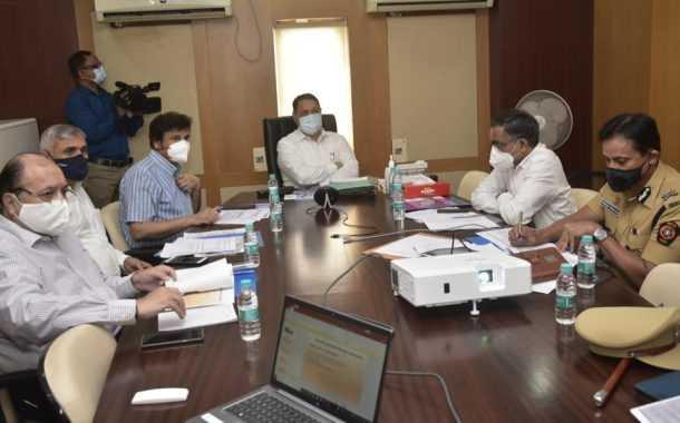 पिंपरी चिंचवड पोलीस आयुक्तालयाच्या प्रलंबित प्रस्तावांचा गृहमंत्री यांनी घेतला आढावा