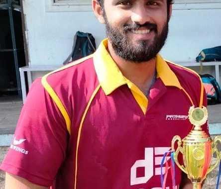 दोशी इंजिनियर्स करंडक आंतरक्लब 25 वर्षांखालील निमंत्रित क्रिकेट स्पर्धेत क्लब ऑफ महाराष्ट्र संघाची ब्रिलियंटस स्पोर्ट्स अकादमीवर मात